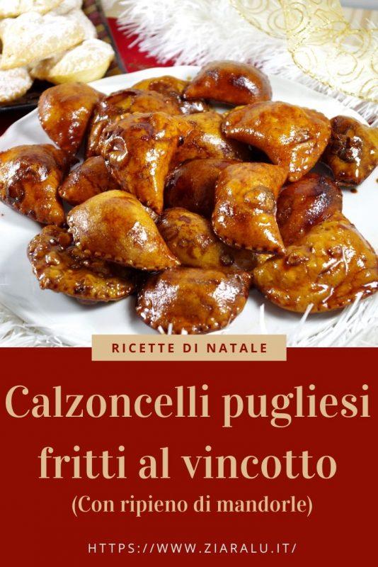 """calzoncelli pugliesi fritti Cuscini degli angeli"""""""