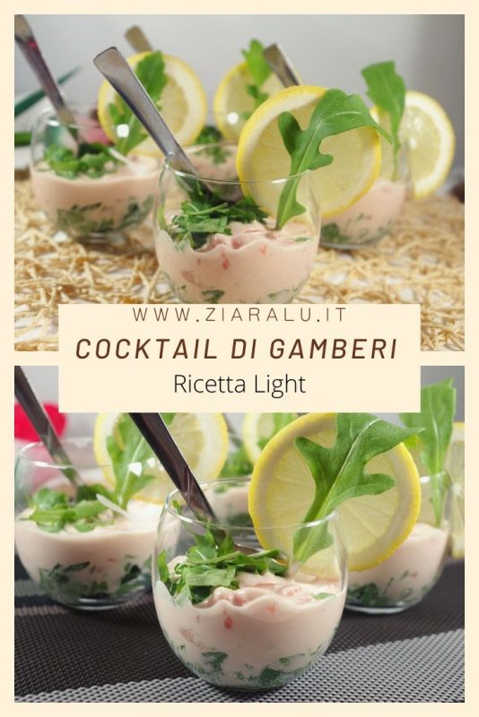 Cocktail di gamberi light
