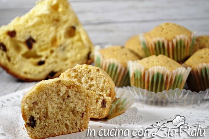 muffins al panettone