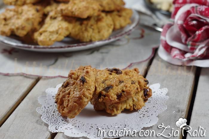 Biscotti senza zuccheri aggiunti – mandorle e goji