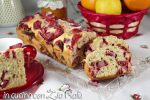 plum cake alle fragole senza zucchero