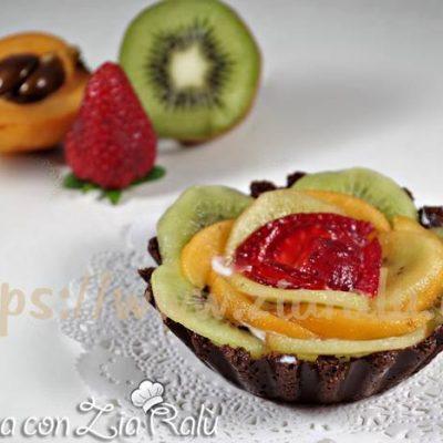 Crostatine senza cottura alla frutta