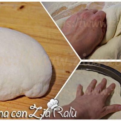 Pasta per pizza a media lievitazione