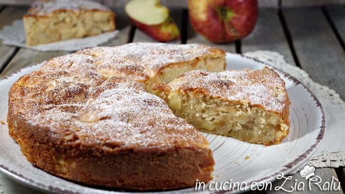 Torta di mele rustica – senza lievito