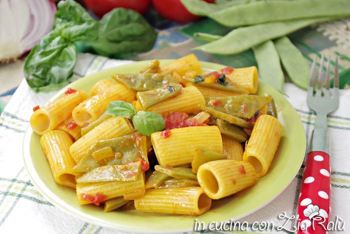 Pasta ai piattoni e zafferano – ricetta facile