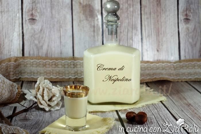 Crema di nespolino – liquore profumato