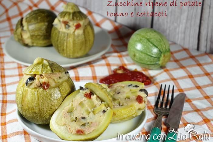 zucchine ripiene fredde