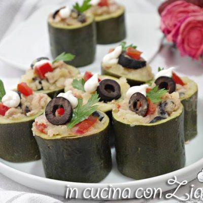 rotolini di zucchine ripieni antipasto freddo