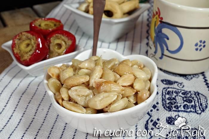 Mandorle tostate salate – antipasto pugliese
