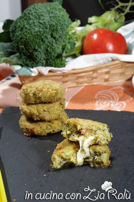 crocchette di broccoli al forno