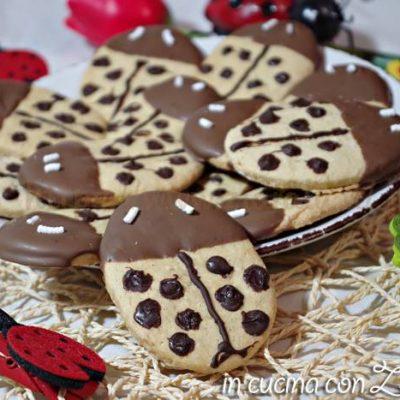 biscotti coccinella