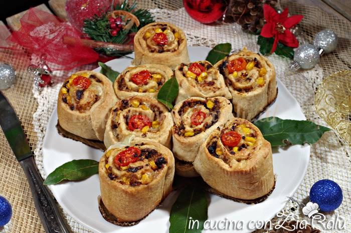 Stella natalizia salata di rose