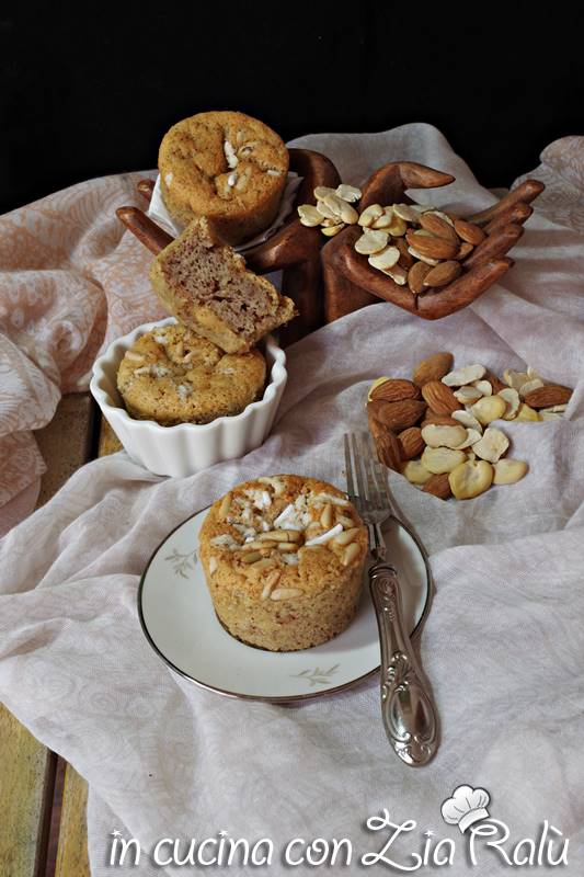 muffins senza glutine con purea di fave