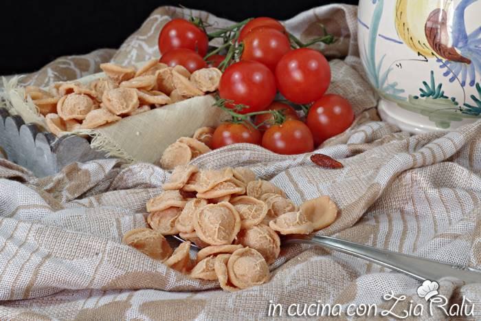 Orecchiette pomodoro e paprika