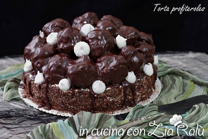 Torta profiteroles – la torta di compleanno perfetta