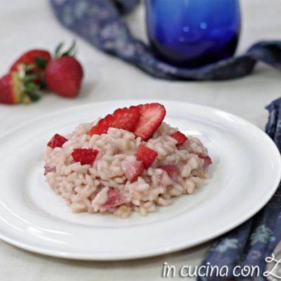 risotto alle fragole e mascarpone - ricetta light