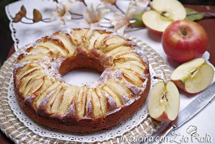 torta di mele senza lattosio
