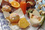 muffins con scarti di frutta centrifugata