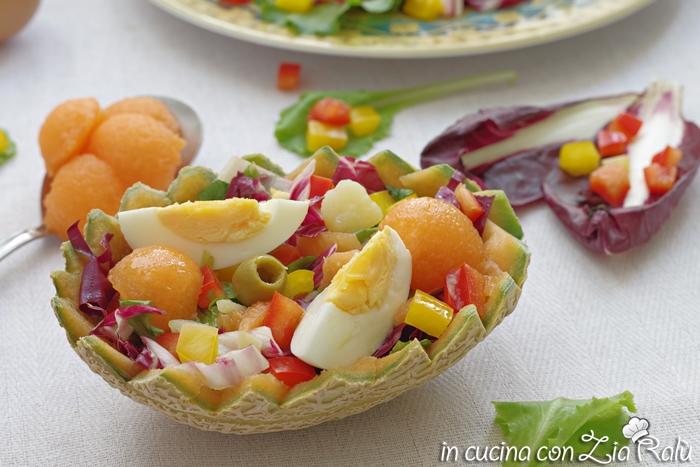 insalata con uova