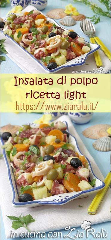 insalata di polpo light