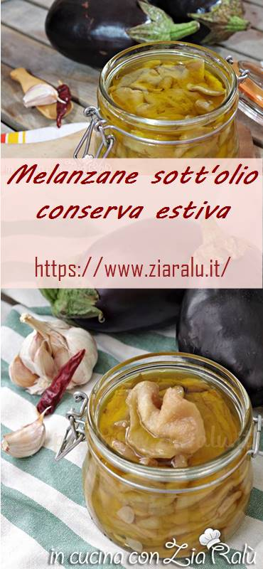 melanzane sott'olio