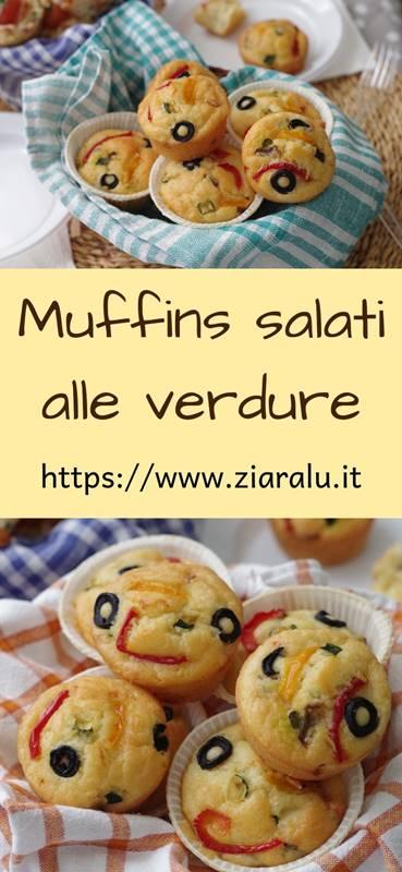 muffins salati alle verdure