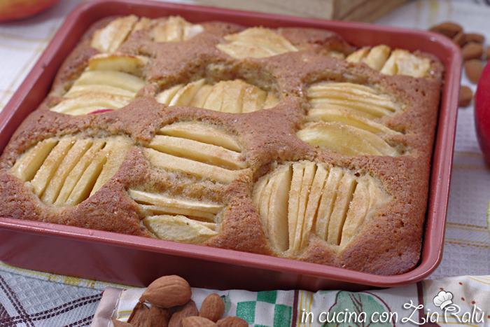 torta di mele semplice senza burro