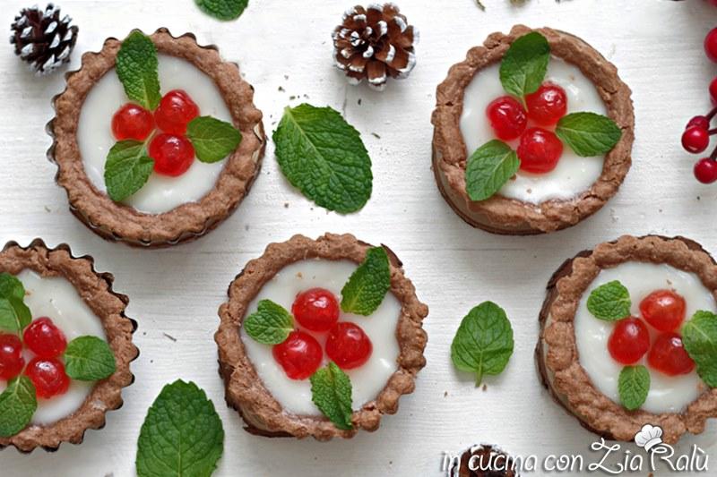 crostatine dolci natalizie