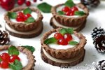 crostatine dolci natalizie senza lattosio