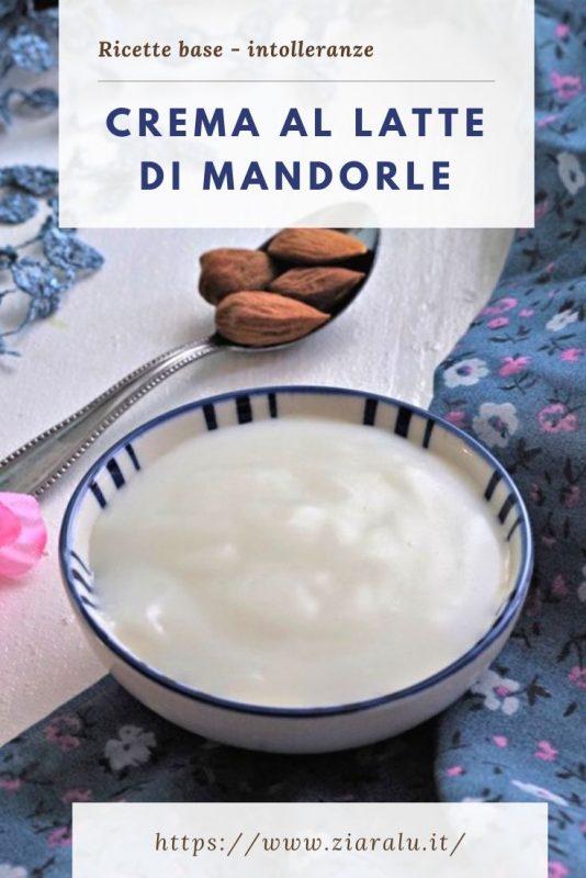 crema al latte di mandorle
