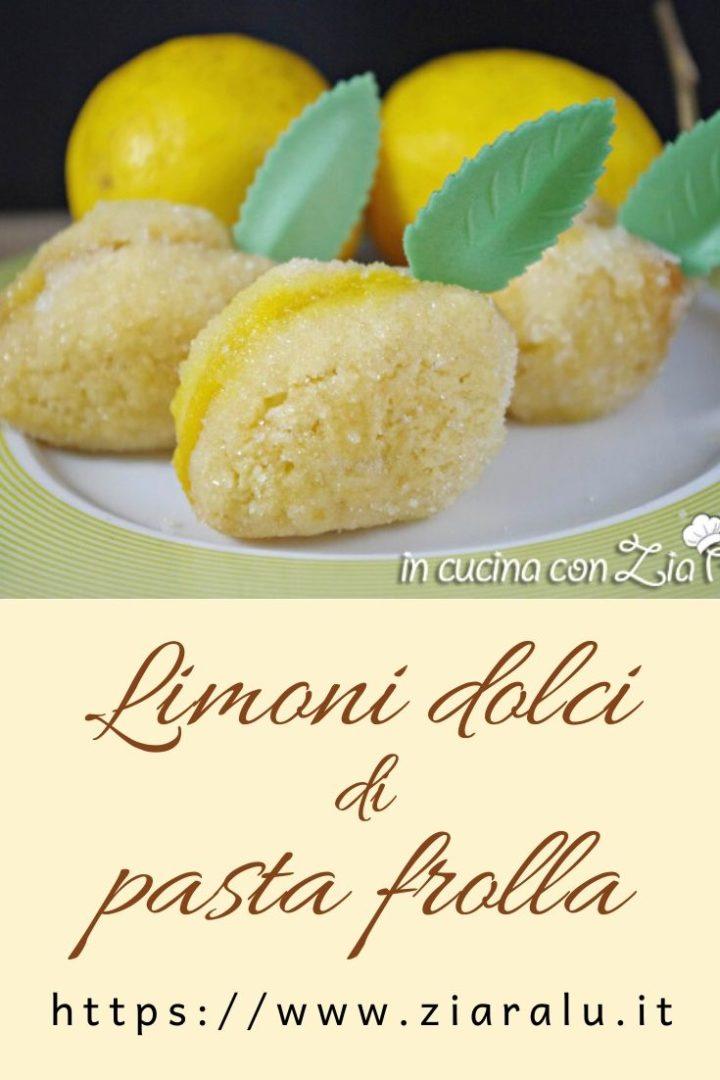 limoni dolci crema di limoncello