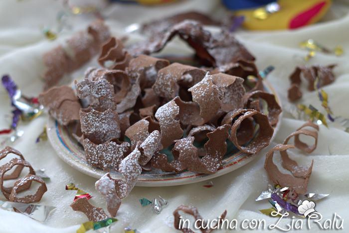 Stelle filanti dolci senza uova – dolce di carnevale