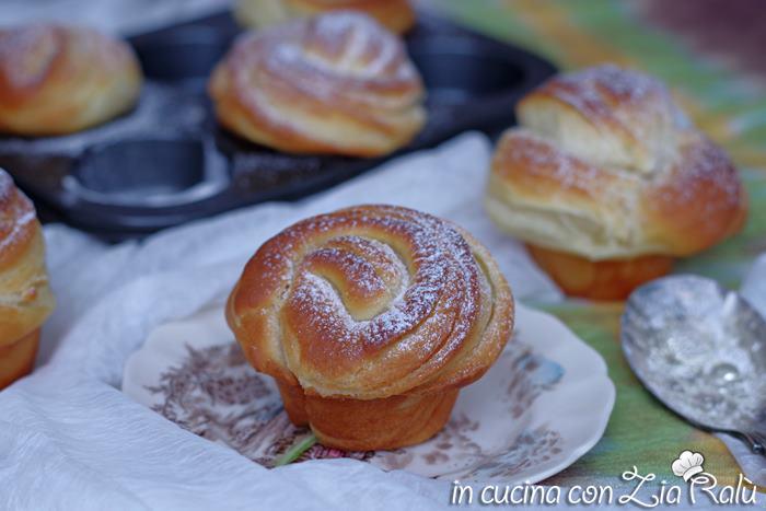 Cruffin o croissant – muffin, brioche sfogliate