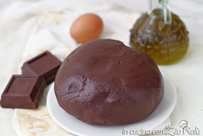 pasta frolla al cioccolato fondente