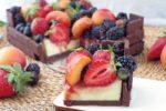 Cheesecake cassetta di frutta – torta casetta senza burro