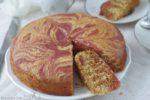 torta zebrata con scarti della centrifuga