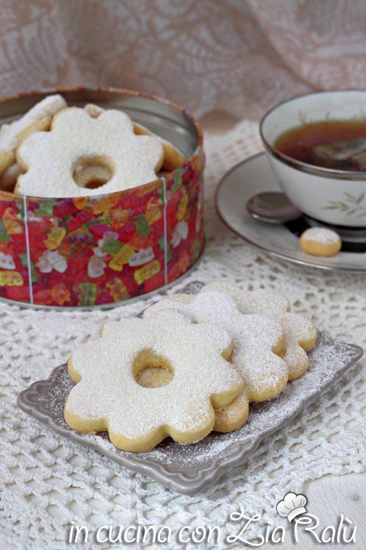 canestrelli ricetta dolce ligure