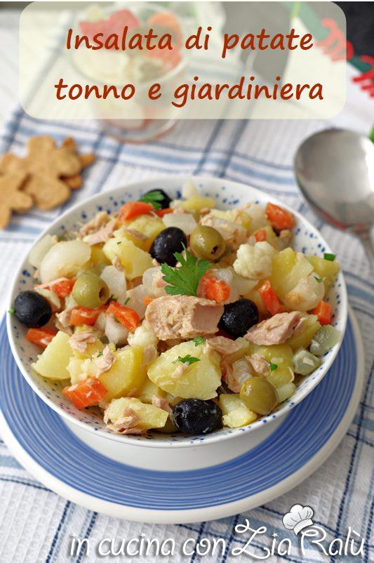 insalata di patate e giardiniera