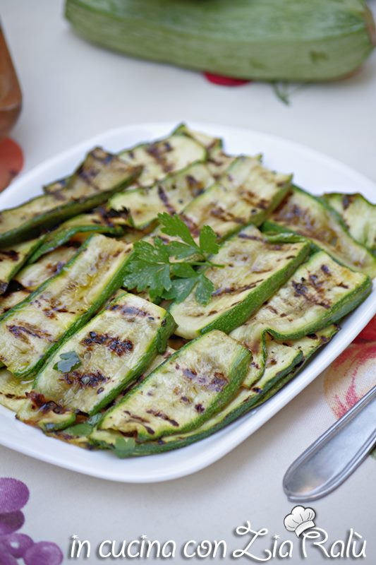 Zucchine grigliate - segreti per farle perfette
