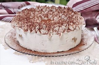 torta tiramisù senza glutine e senza uova crude