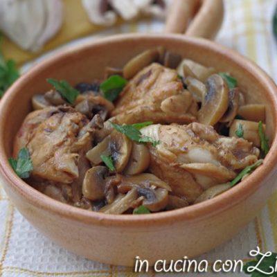 pollo al marsala con funghi