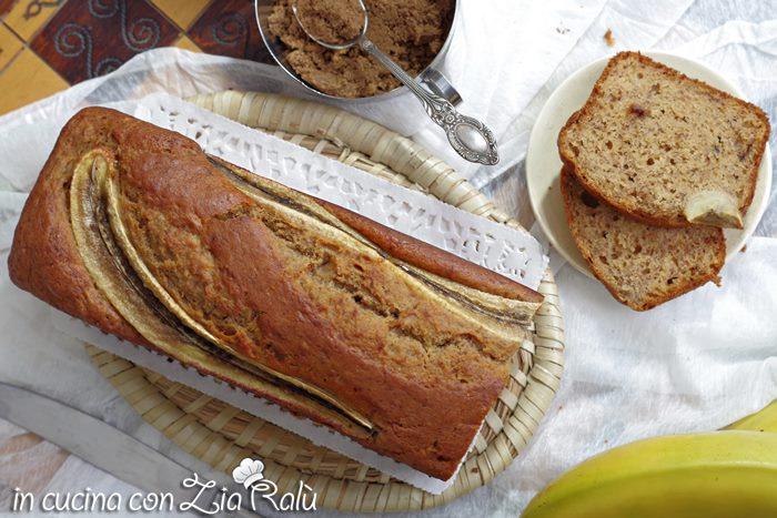 banana bread senza burro