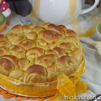 torta delle rose alla zucca senza uova