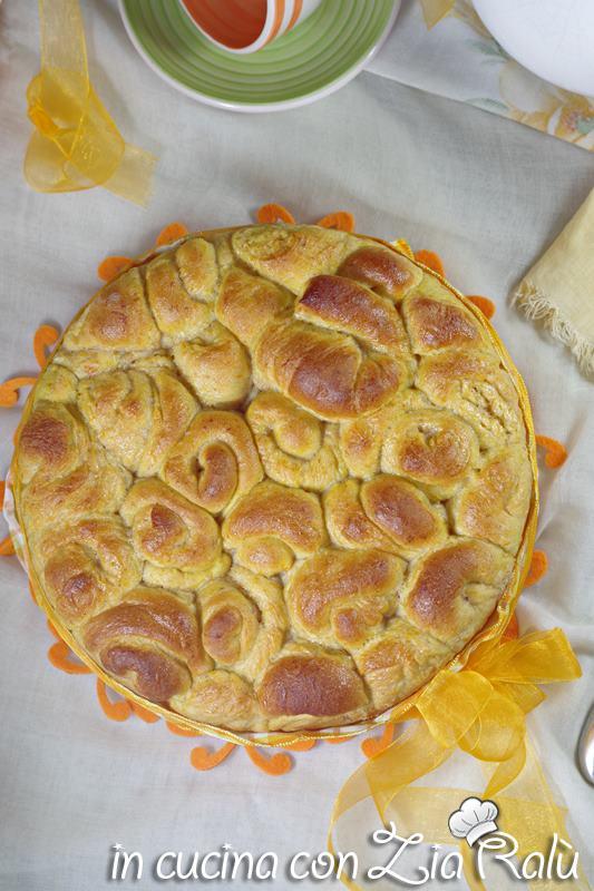 torta delle rose alla zucca