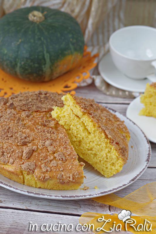 torta alla zucca cotta ricotta e amaretti