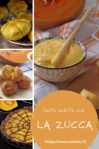 ricette dolci e salate con la zucca