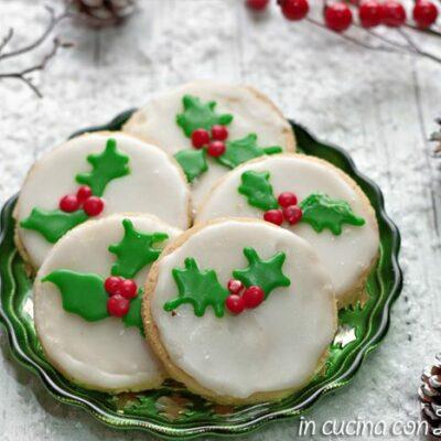 biscotti natalizi glassati