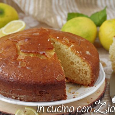 torta ai limoni all'olio