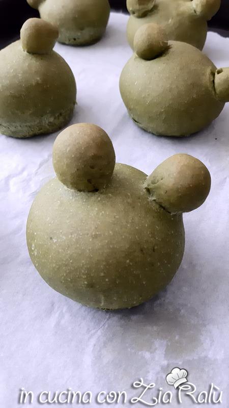 panini a forma di ranocchia
