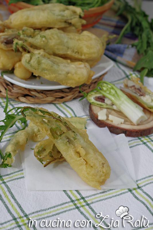 puntarelle fritte in pastella